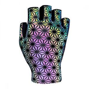 Supacaz SupaG Short Glove Oil Slick LG Unisex