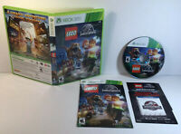 LEGO Jurassic World - Xbox 360 Game - Complete & Tested