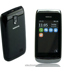 "Original Unlocked Nokia Asha 308 2G 3"" 2MP Touchscreen Mobile Phone Dual SIM"