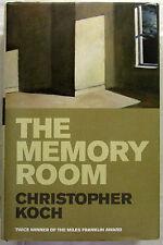 The Memory Room Christopher Koch 1st Ed Deckle Edge HCDJ 2007 VeryGood Condition