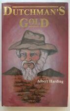 Dutchman's Gold by Albert Harding Signed 1st- High Grade