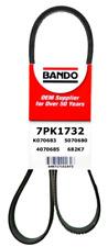 BANDO 7PK1732 OEM Drive Belt Fit ACURA RDX 07-13 HONDA CRV 02-06 VIPER V10 8.3L