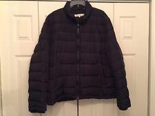 Kenneth Cole New York Men's Puffer Down Jacket -  Black - 2XL