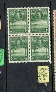 SIERRA LEONE (P2101BB) KGV 1/2D BL OF 4  SG155    MNH