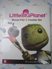 PS3 Game Little Big Planet Mouse Pad & Coaster Set Sony Computer Entertainment