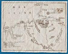 original 1854 military drawing Sevastopol Crimea war Russia dessin guerre Crimée