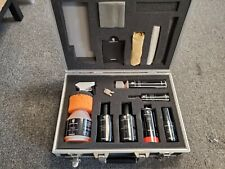 TEQUIPMENT PORSCHE CAR CARE KIT PORSCHE CLEANING DETAILING KIT w/CASE