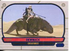 Star Wars Galactic Files Blue Parallel #307 Dewback