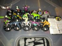 Marvel Heroclix Earth X Sinister Syndicate Lot, Green Goblin, Venom, and More!