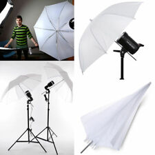 "33"" White Photography Pro Studio Reflector Translucent Diffuser Umbrella"