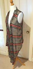 DKNY Open Waistcoat Top