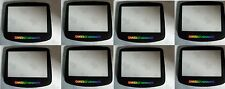 8  LOT  TEMPERED GLASS Holographic Screen Lens for Nintendo GameBoy Advance  D17