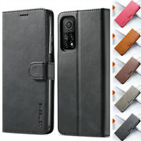 Case For Xiaomi 10T Pro 10T Lite 5G Poco X3 NFC Flip Leather Wallet Stand Cover