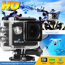 Q7 SPORT WIFI ACTION PRO CAM CAMERA FULL HD DV 1080p VIDEOCAMERA SUBACQUEA 12MP