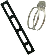 FMF Racing Medium Strap Mount with Rubber Sleeves (1.25in. Tab) for Titanium 4