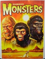Famous Monsters Filmland POSTER - PLANET Of The APES Cover #275 HAND SIGNED