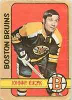 1972-73 O-Pee-Chee Johnny Bucyk #1 Frsca