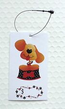 100 Hang Tags Accessories Tags Price Tags Cute Puppy Pets Tags W Plastic Loops