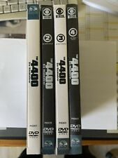 DVD Filme Science Fiction, The 4400, kompl. Serie, 4 DVDs, einmal angesehen