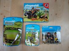 Playmobil Wildlife - Evil Explorer & Quad with Pullback Motor bundle