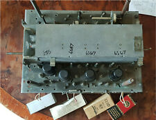 AR88 RADIO RECEIVER ENTIRE FRONT END + 4 TESTED VALVES HAM RADIO VINTAGE REFURB