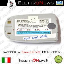 Batteria compatibile Lithium-ion 3.6 V Samsung E810/E818  - 650 mAh