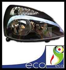 FARO FANALE ANTERIORE destro RENAULT CLIO 2 RESTYLING dal 01 al 05 CORPO NERO