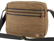 Troop London Classic Canvas Tablet Friendly Messenger Shoulder Bag - TRP0391