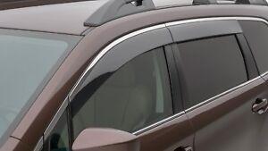 2019 20 Subaru Ascent Side Window WIND Deflectors Vent Visors F001SXC000 Genuine