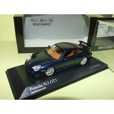 PORSCHE 911 GT3 996 2003 Bleu Lapisblaumetallic MINICHAMPS 1:43