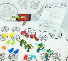 "18 LOT - MYSTERIOUS RAYGUN MINI 1""-3"" ACTION TOY GUN ACCESSORIES APPGEAR 2011"
