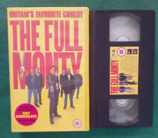 VHS FILM Eng Commedia THE FULL MONTY robert carlyle addy ex nolo no dvd(VH97)