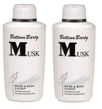 Bettina Barty MUSK Body Lotion 2 x 500 ml Sparpack  Neu !