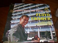 FLOYD CRAMER COUNTRY PIANO- CITY STRINGS-LP-NM-RCA VICTOR-STEREO