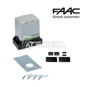 Motore automazione cancello scorrevole 500K motoriduttore FAAC 740 SAFE 1097805