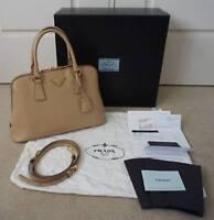 Authentic Prada Saffiano Lux Bag w full packaging & receipt