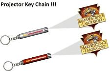 MARS SCIENCE LABORATORY CURIOSITY ROVER 2 Projector Key Rings Chain JPL   NEW