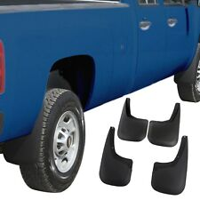 Silverado 1500 Mud Flaps 2007-13 Mud Guards Splash Guards 4 Piece Front Rear 4pc