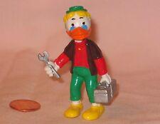 Disney's Duck Tales Wacky Inventor Gyro Gearloose PVC Figure; By Bullyland 1984