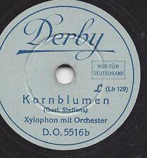 Xylophone à petit 20 cm Derby: Boulanger-MARCHE + Barbeaux
