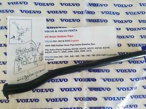 Volvo 240 244 245 740 760 780 940 Volvo Penta AQ120-Thru-AQ171 Breather Box Hose