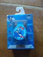 Sonic the Hedgehog Spinner Kids Watch Flip Cover Lights Up 6+ Blue Digital