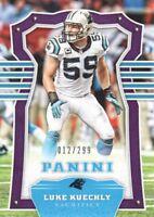 2017 Panini Sacrifice Purple #64 Luke Kuechly /299 Carolina Panthers