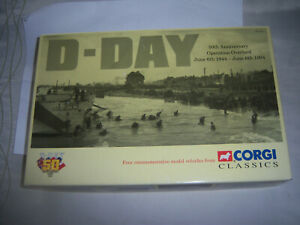 CORGI 97714 'D-DAY 50th ANNIVERSARY OPERATION OVERLOAD SET WITH CERTIFICATE