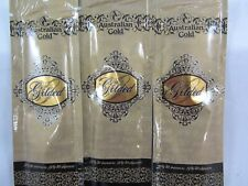 5 Pack - Australian Gold Gilded 50X Bronzer Tanning Lotion Sample Packets