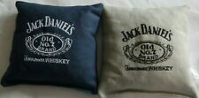 8 Embroidered Cornhole Bags! Jack Daniels! Corn or Pellets! Wicked Nice!