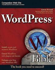 WordPress Bible-ExLibrary