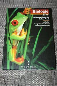 Lehrbuch Biologie plus, 5./6. Klasse, Gymnasium, Sachsen-Anhalt, Volk und Wissen