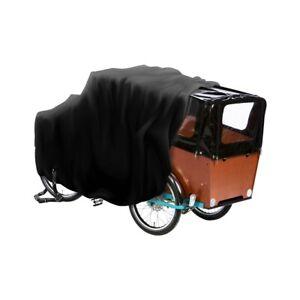 Transportrad Abdeckung  DS Covers Cargo 3WT mit Regenzelt