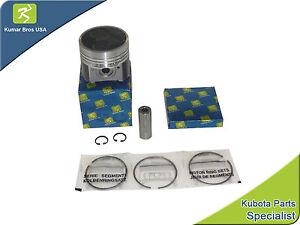New Kubota V2203-M Kit Piston & Rings STD